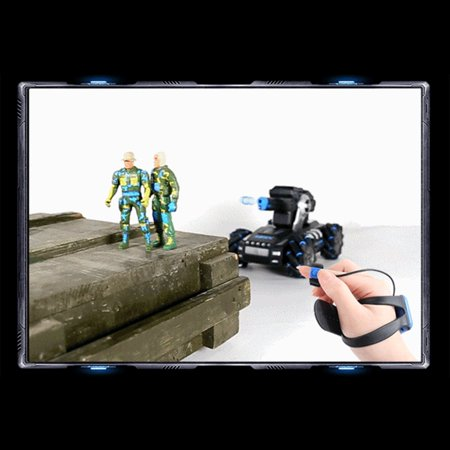 UK2075 1:16 Simulation RC Military Tank Launch Water Bomb Armor Interactive Battle 2.4g Watch Drift Remote Control Car - image 1 of 4