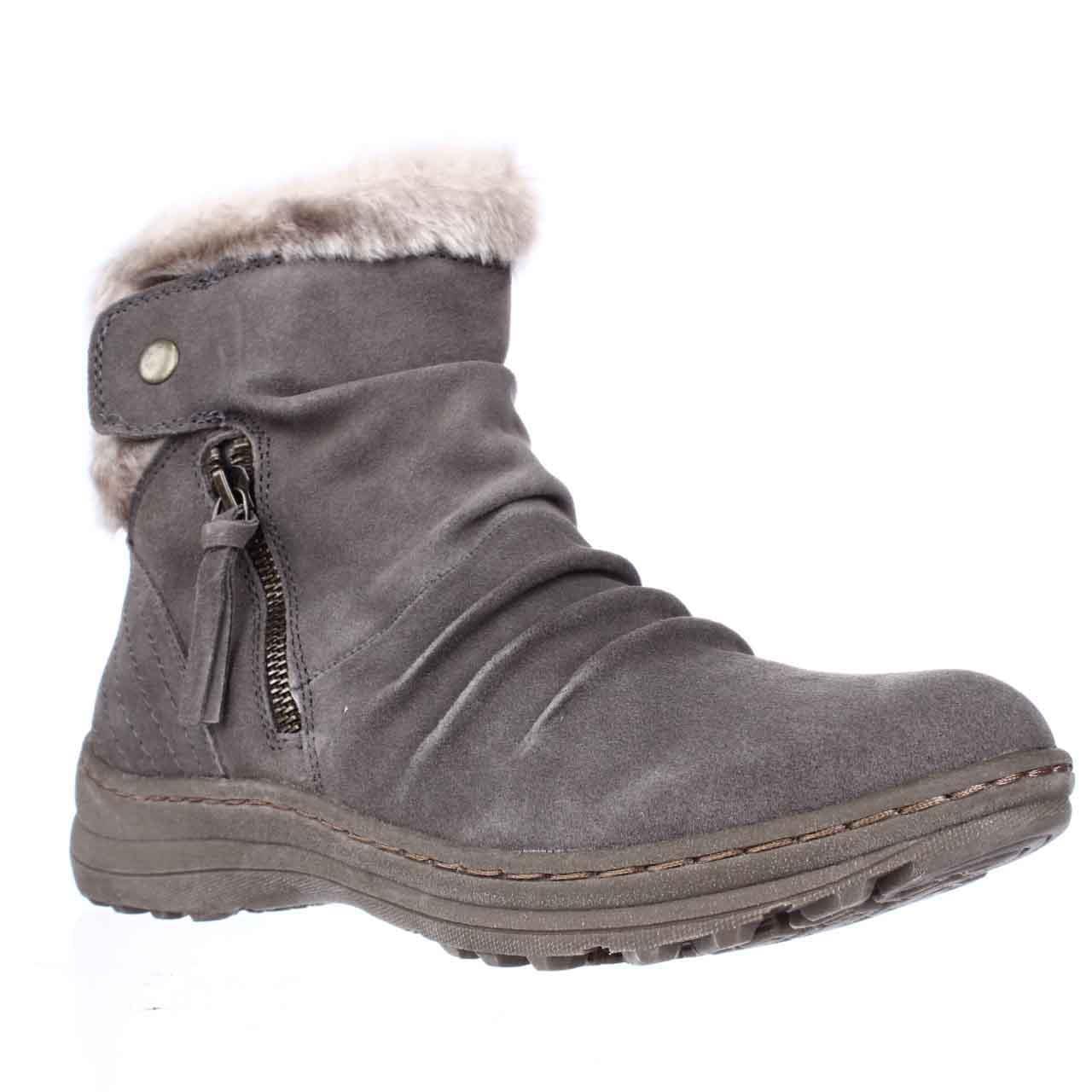 Womens BareTraps Amelya Short Snow Boots Mushroom by BareTraps