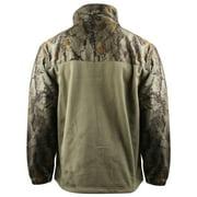 Natural Gear Hybrid Fleece Full Zip Jacket (S)- Nat. Camo