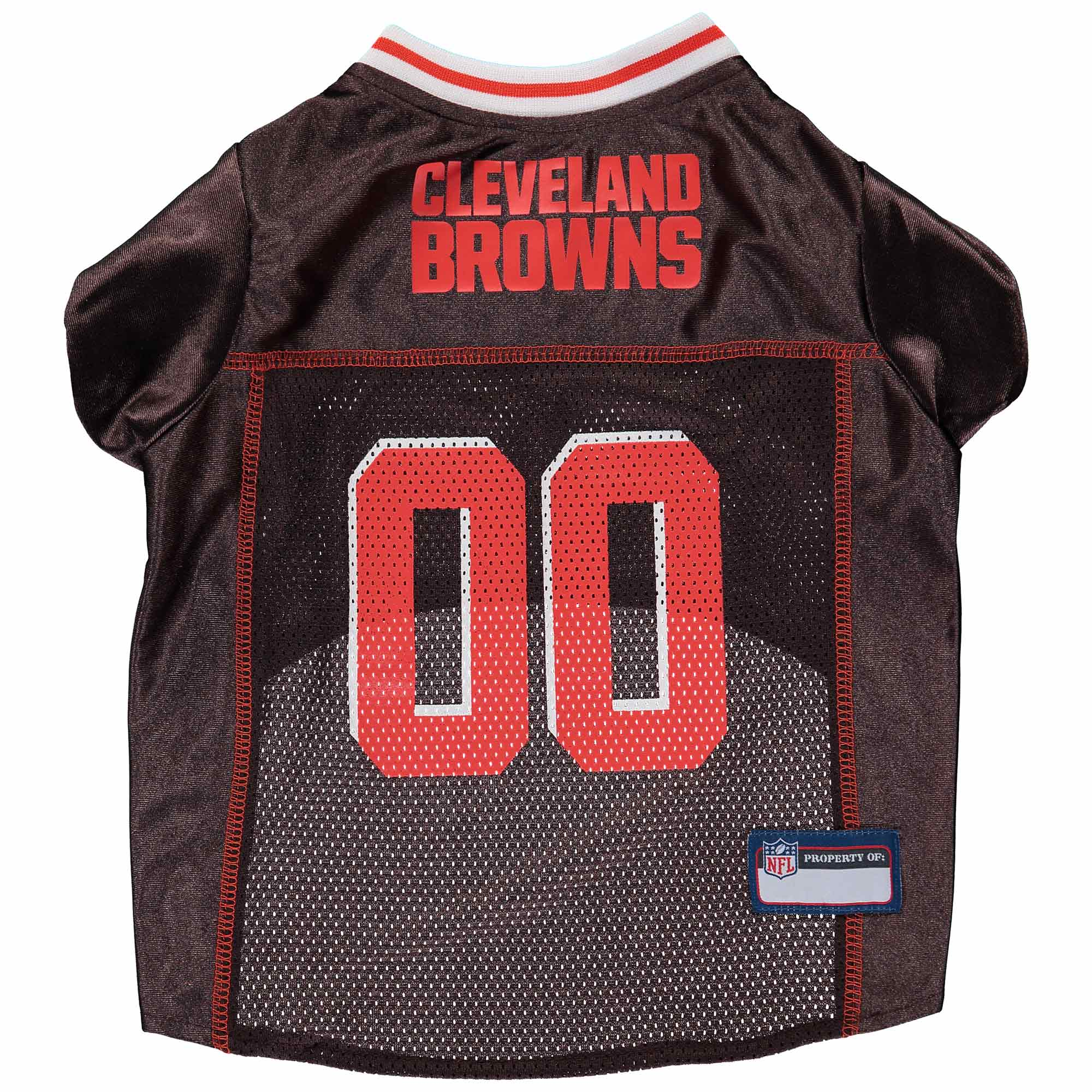 Cleveland Browns Mesh Dog Jersey