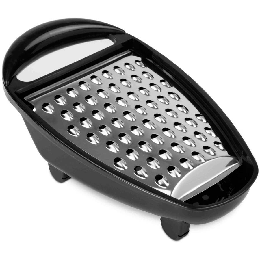 Home Basics Stainless Steel Cheese Grater with Collector