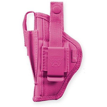 Taurus Semi Auto - Bulldog Cases Extreme Belt Clip Holster Pink Fits Most compact autos w/ 2 1/2