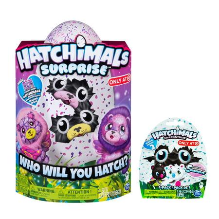Hatchimals Surprise Ligull Hatching Egg W Surprise Twin