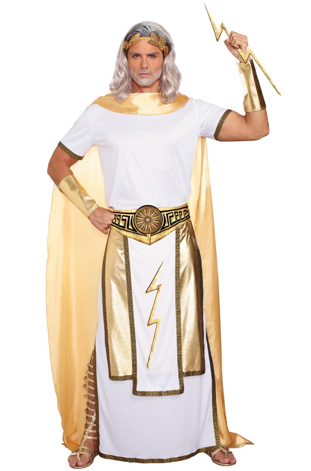Zeus Adult Costume - Walmart.com