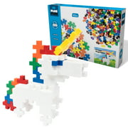 Plus-Plus BIG - Instructed Play Mega Maker - 46 pc Unicorn– Construction Building STEM   STEAM Toy, Interlocking Large Puzzle Blocks for Toddlers and Preschool