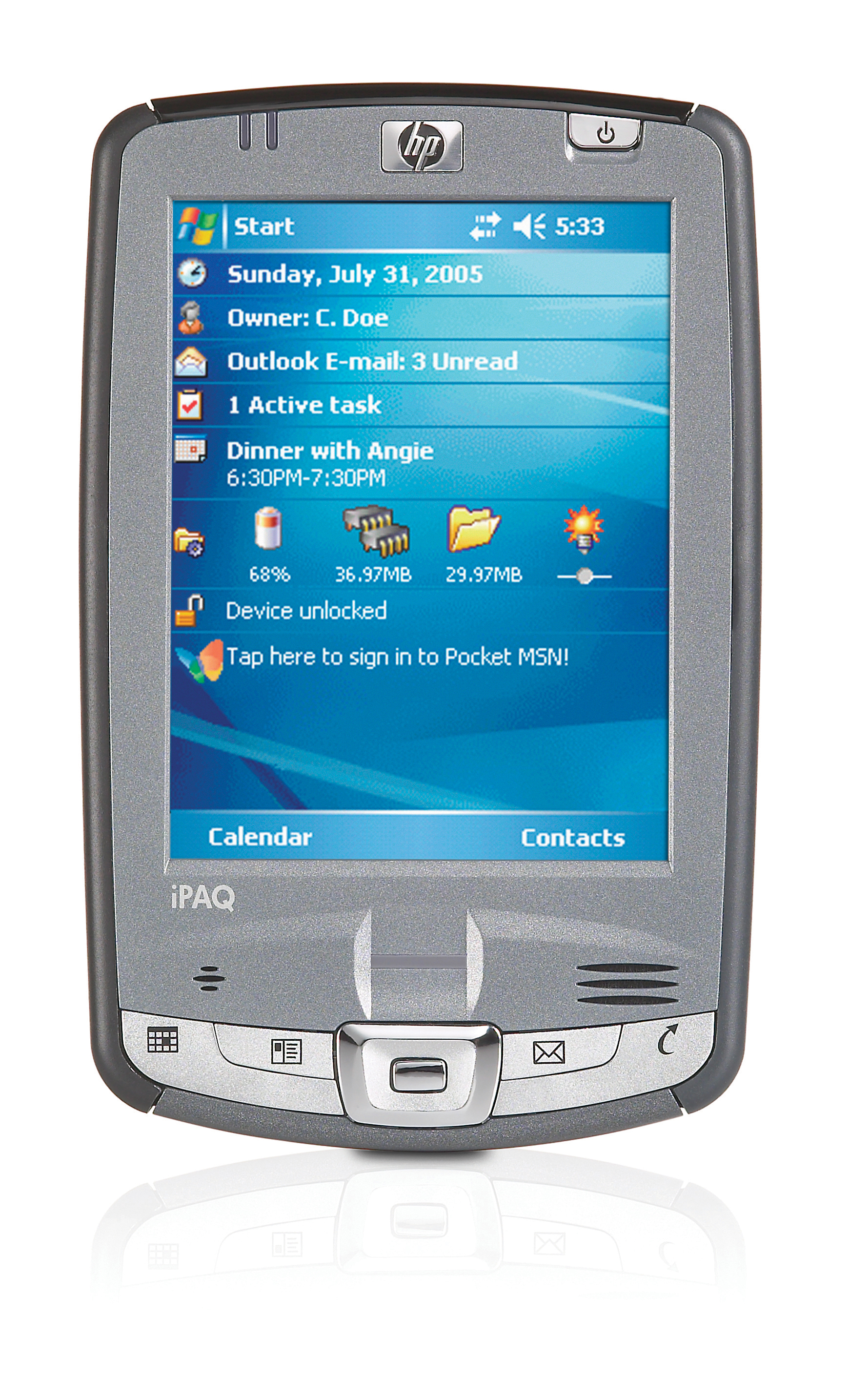 HP Ipaq HX2700 Series Pocket Pc - Walmart.com