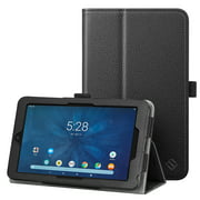 "Tablet Case for Onn 7"" 7 Inch Android Tablet - Fintie Protective Folio Cover With Stylus Holder, Black"
