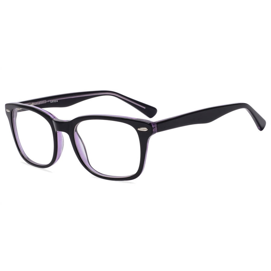 Flower Womens Prescription Glasses, Josie Black - Walmart.com