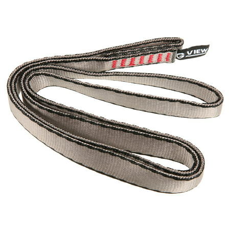 Rescue Rope Runner - 23KN 16mm 60cm/2ft Rope Runner Webbing Sling Flat Strap Belt for Mountaineering Rock Climbing Caving Rappelling Rescue Engineering