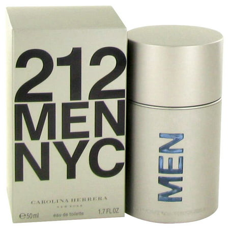 Carolina Herrera 212 Eau De Toilette Spray (New Packaging) for Men 1.7 oz - Alfonso Herrera Halloween