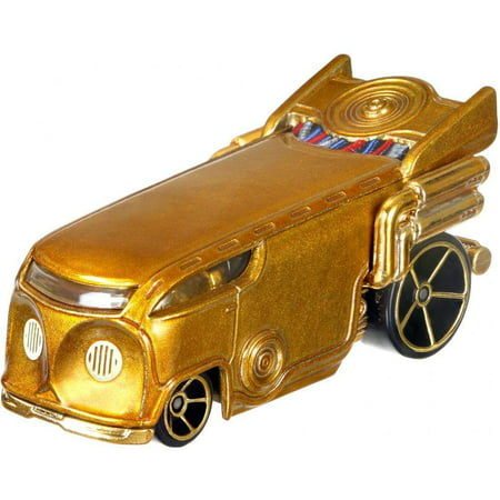Hot Wheels Star Wars C-3PO, Character Car