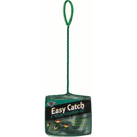 Blue Ribbon Pet Products-Easy Catch Coarse Mesh Fish Net- Green 6 Inch ()