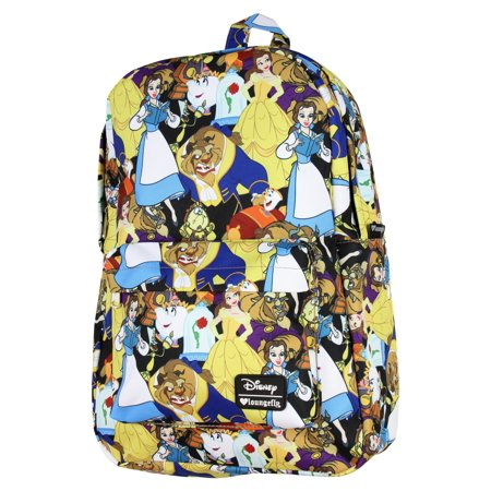 Loungefly - Loungefly Disney Beauty and the Beast Belle Character Girls   Laptop Backpack - Walmart.com