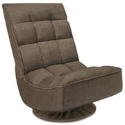 Best Floor Gaming Chairs - Best Choice Products 360-Degree Swivel Folding Cushioned Floor Review