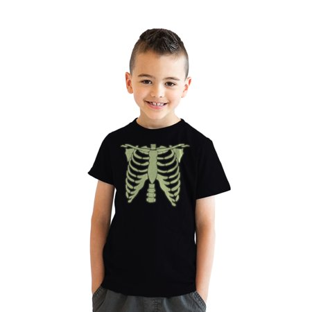 Cool Halloween Manicures (youth glowing skeleton rib cage cool halloween t)