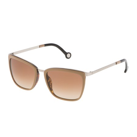 SUNGLASSES - POLARIZED FASHION SUN GLASSES  CAROLINA HERRERA  GRAY  WOMAN  SHE06854579G - image 1 of 1