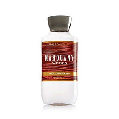 bath & body works, signature collection body lotion, mahogany woods for men, 8 (Mahogany Body Blank)