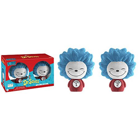 Dorbz Dr. Seuss Flocked Thing 1 & Thing 2 Exclusive 2 - Flock Pack