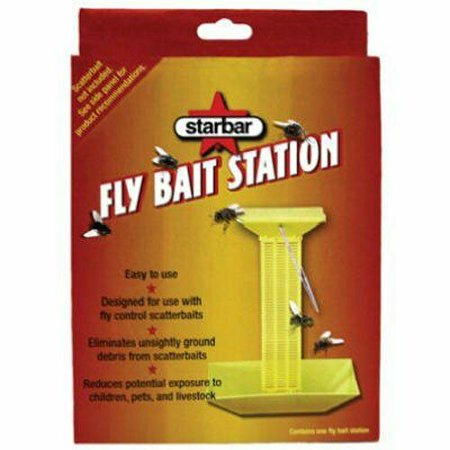 Image of Portable Fly Bait Station for Use with Fly Control Scatter Baits
