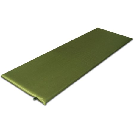 Venture products 78quot x 25quot x 1quot self inflating camping mat for Venture outdoors campsite flooring