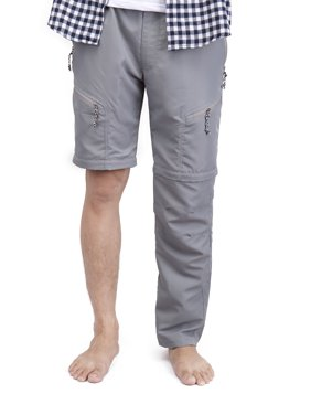 be13d827349 Product Image LELINTA Men's Outdoor Anytime Quick Dry Convertible Pants  Lightweight Work Pant Zip Off Cargo Short Trousers