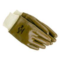 Knit Wrist PVC Coated Glove PVC KNIT WRIST GLOVE