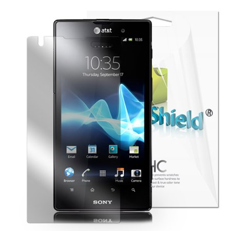 Greatshield Ultra Smooth Clear Screen Protector Film For Sony Xperia Ion  3 Pack