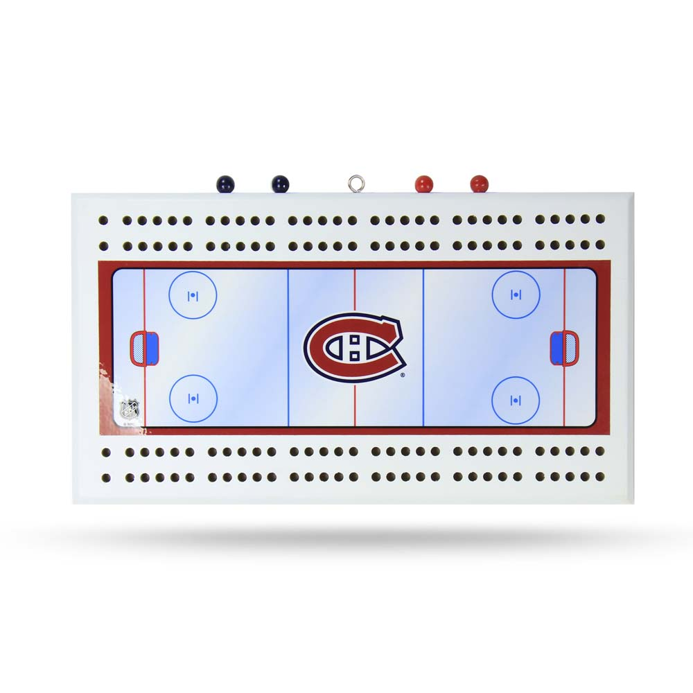 Montreal Canadiens Cribbage Board