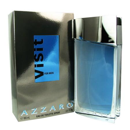 Azzaro Visit For Men 3 4 Oz Edt Spray