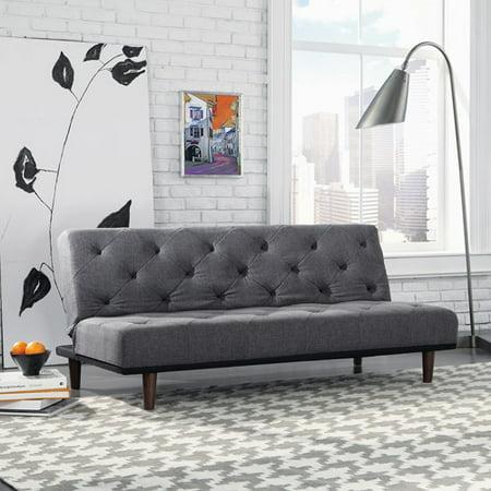 Astonishing Sale Sauder Premier Crash Convertible Sofa Dark Gray Andrewgaddart Wooden Chair Designs For Living Room Andrewgaddartcom