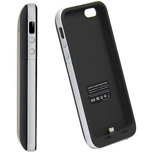 iphone 5 rechargeable case icontact iphone 5se 5s 2500mah rechargeable battery 14561