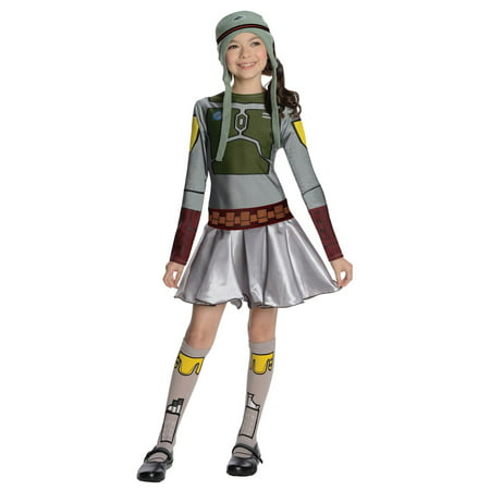 Star Wars Girls Boba Fett -Girl Halloween - Boba Fett Girl Costume