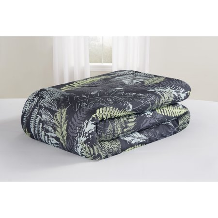 Mainstays Reversible Tropical Camo 7 Piece Bed In A Bag