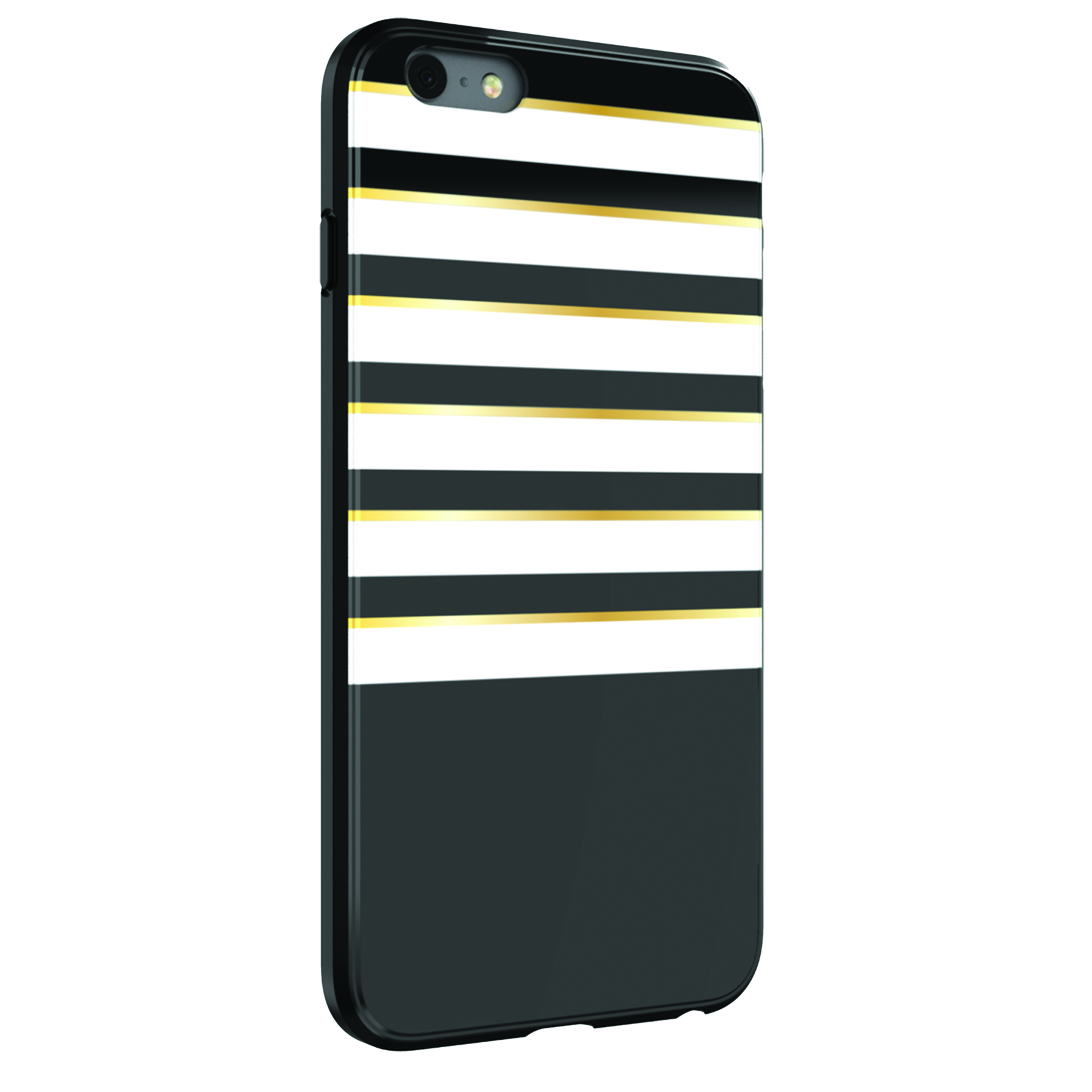 iphone 6 white and gold. onn black, white and gold stripes case for iphone 6 plus/iphone 6s plus iphone g