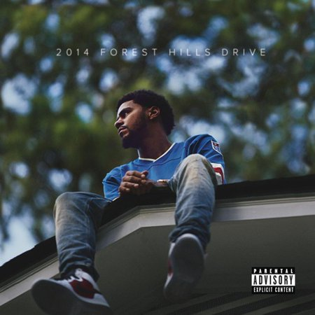 J. Cole - 2014 Forest Hills Drive (Explicit) (CD) (Forest Hills Halloween Parade)