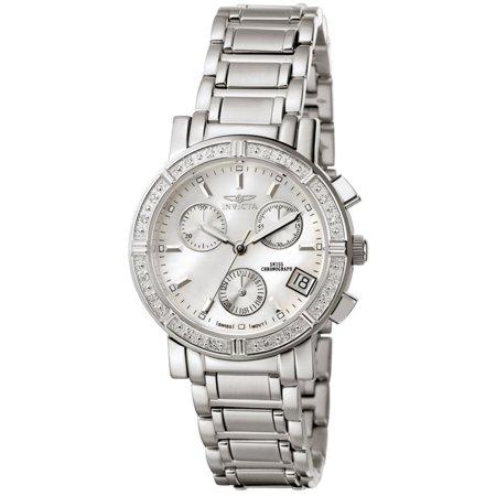 Invicta Women's Invicta II 4718 White Stainless-Steel Swiss Quartz Fashion Watch