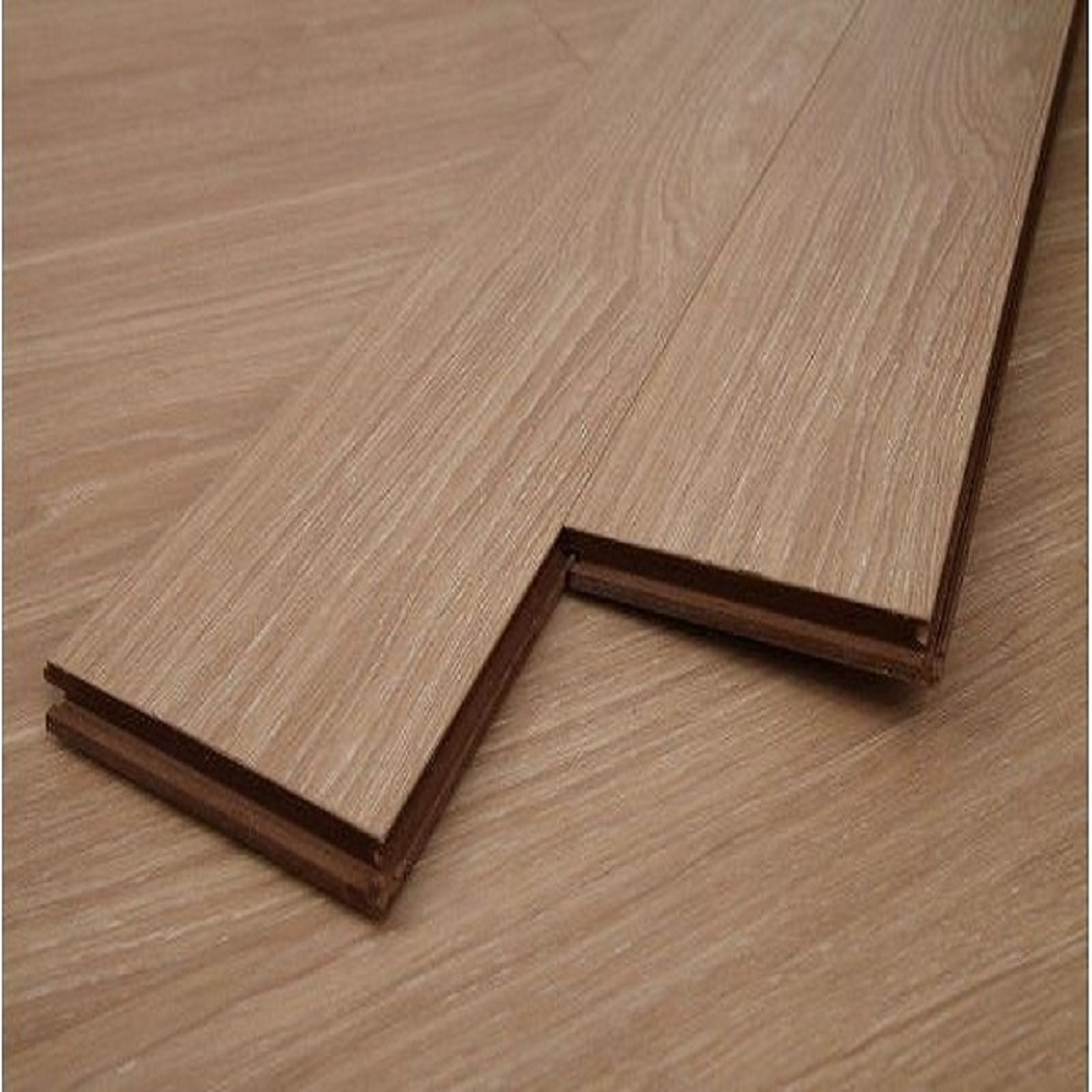 Dekorman Natural Oak #1139-4 12mm Thickness Click-Locking Laminate Flooring - 5in x 7in Take Home Sample