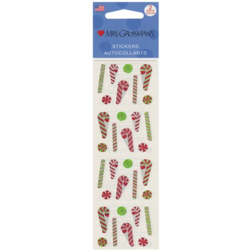 Mrs. Grossmans Stickers-Holiday Candies Multi-Colored