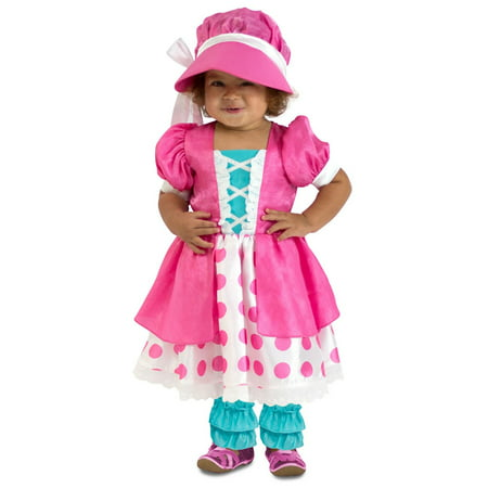 Halloween Girl's Toddler Polka Dot Bo Peep Costume - Peeps Halloween