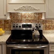 Fasade  Traditional Style #4 Backsplash in Bermuda Bronze 18-square-foot Kit
