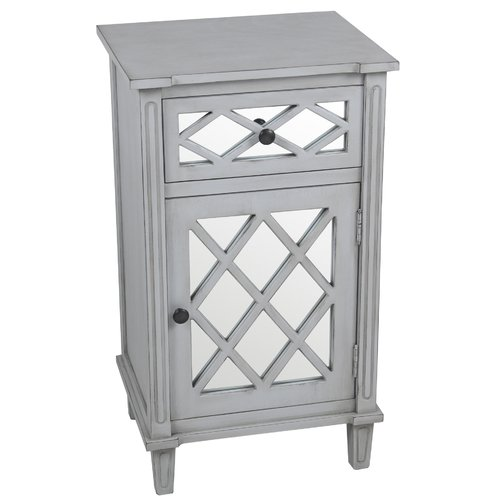 Savitha Mirror End Table