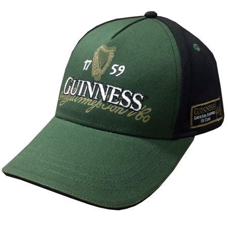 Bottle/Black Guinness Irish Label Baseball - Guinness Baseball Cap