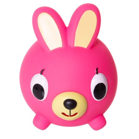 Jabber Ball by Sankyo Toys - Neon Pink Bunny - Jolly Jabber