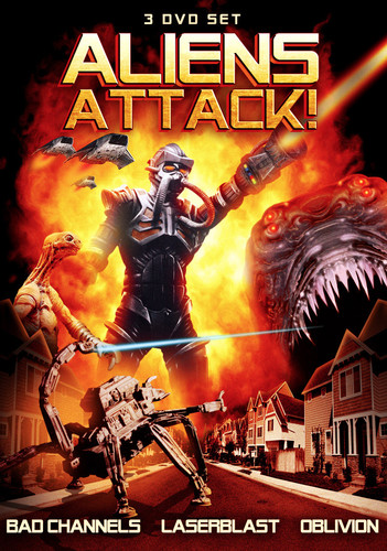 Aliens Attack!: Bad Channels   Laserblast   Oblivion by