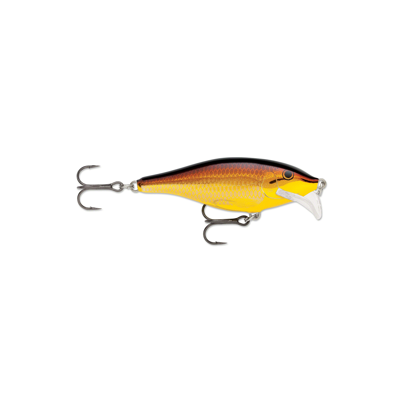 Rapala Scatter Rap Shad 07 Golden Alburnus Fishing Lure by Normark