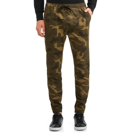 Camo Ufo Pants (Phat Farm Men's Camo Stretch Moto Twill Joggers )
