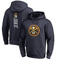 Nikola Jokic Denver Nuggets Fanatics Branded Team Backer Name & Number Pullover Hoodie - Navy