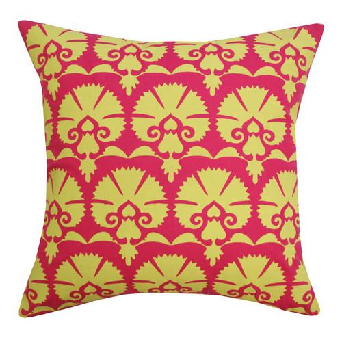 Divine Designs Mandwa Cotton Throw Pillow