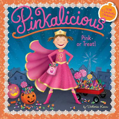 Pinkalicious: Pink or Treat! (Paperback) - Halloween Books For Toddlers