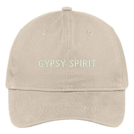 Trendy Apparel Shop Gypsy Spirit Embroidered 100% Cotton Adjustable Cap Dad Hat - Stone Croton Womens Quartz Stone